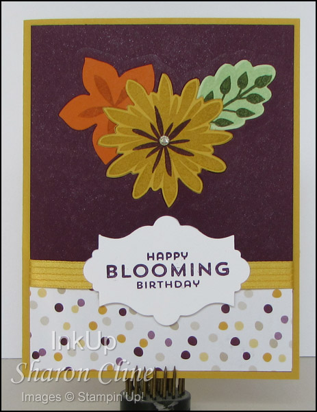 Blooming Birthday - by Sharon Cline